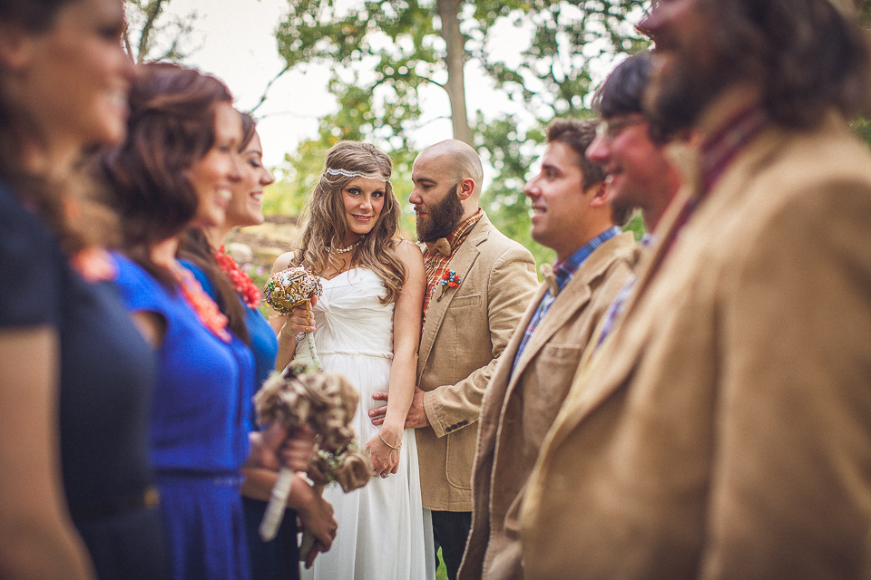 43 bridal party photos - Rural Chicago Wedding Photographer // Chantel + Chris