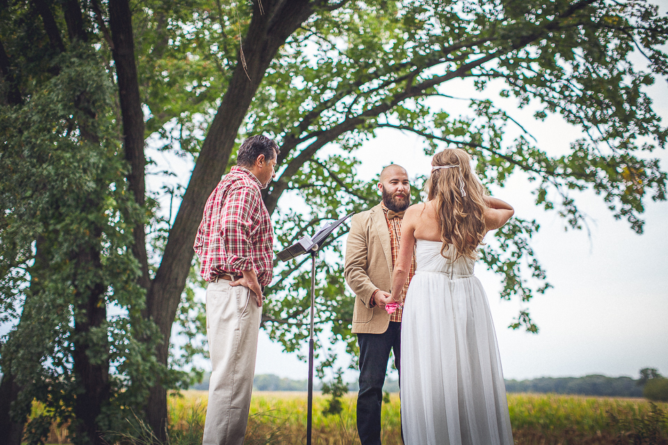 52 beautiful ceremony photos - Rural Chicago Wedding Photographer // Chantel + Chris