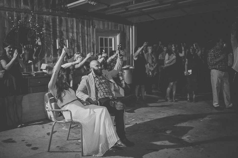 84 farm house wedding toast - Rural Chicago Wedding Photographer // Chantel + Chris
