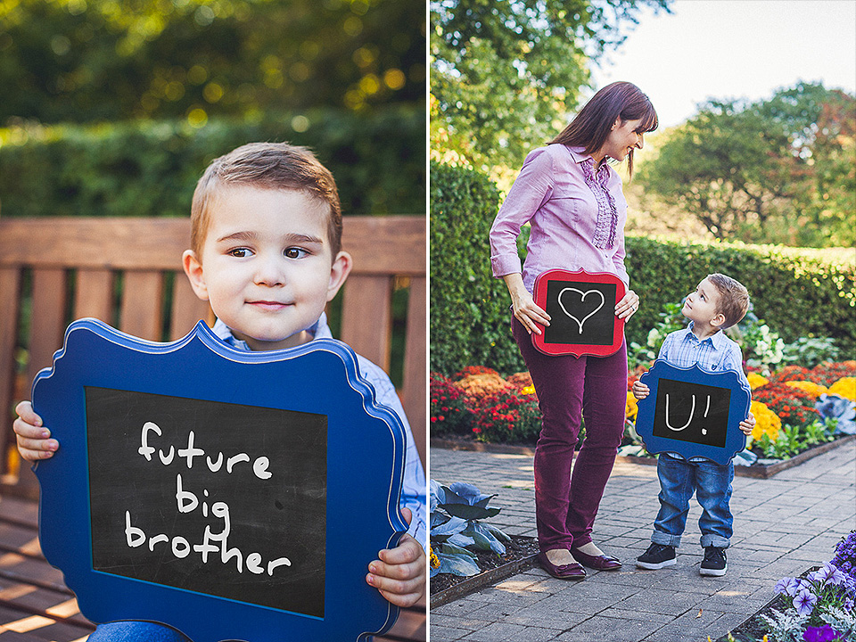 peter gubernat family photographer 2 - We're Pregnant >< Baby Announcement in Cantigny Park
