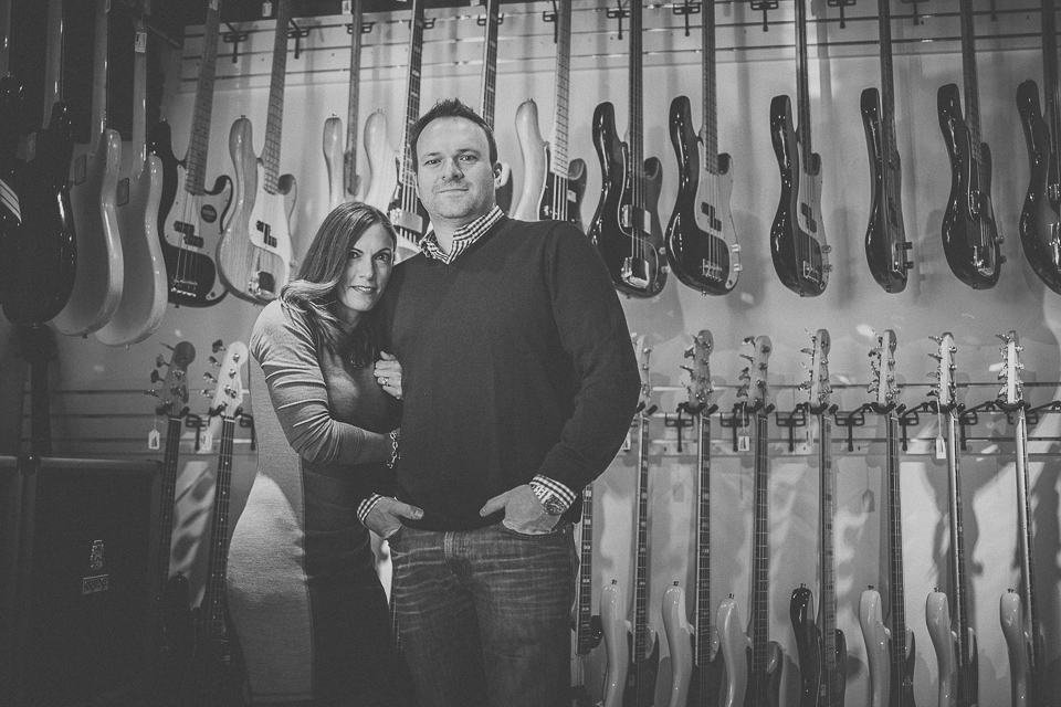 05 wife and husband black and white portrait - Schmidt Family Creative Portraits