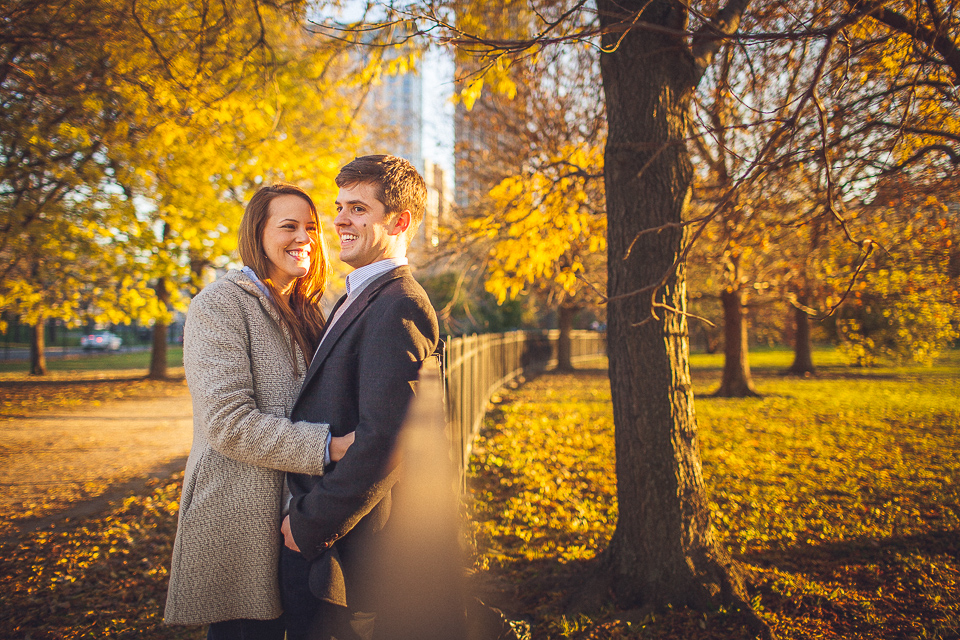 Lindsey + Matt || Chicago Engagement Shoot