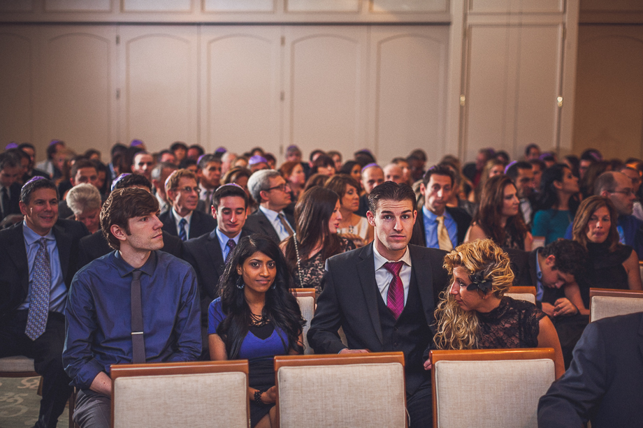21-1 crowd at ceremony  chicago wedding photographer