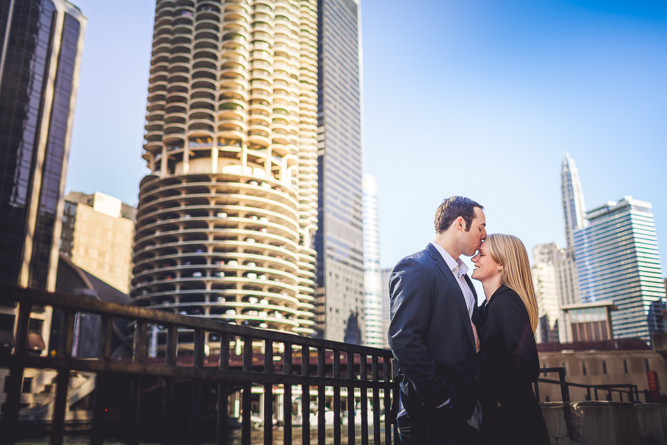 peter gubernat chicago wedding photographer 19 - Ashley + Zach >< Engagement Session Downtown Chicago