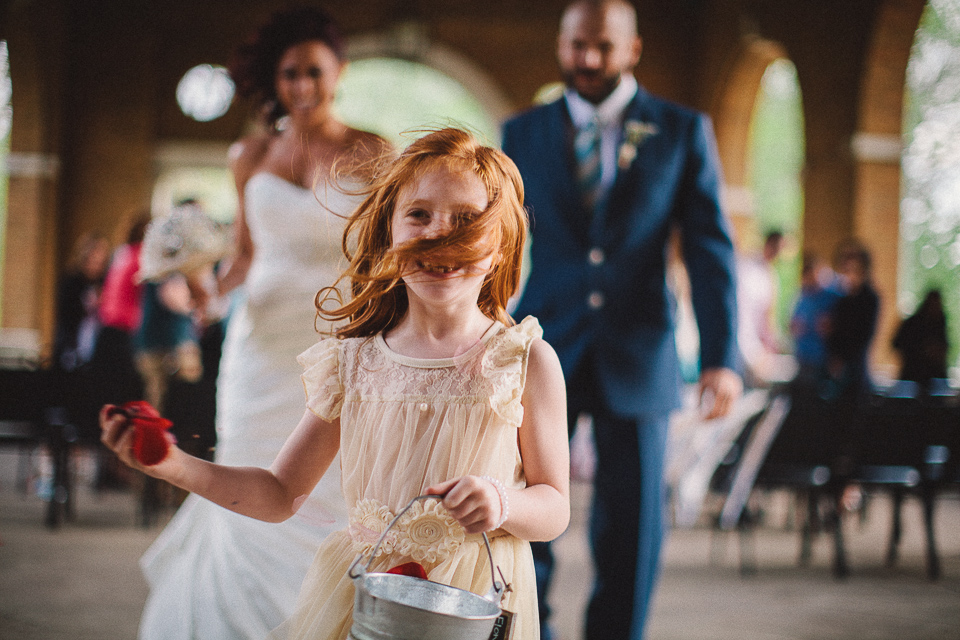 peter gubernat wedding and destination photographer aj walking with flower girl