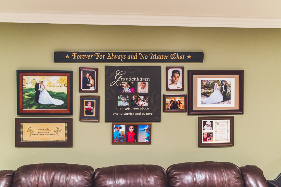 06 family memories on wall
