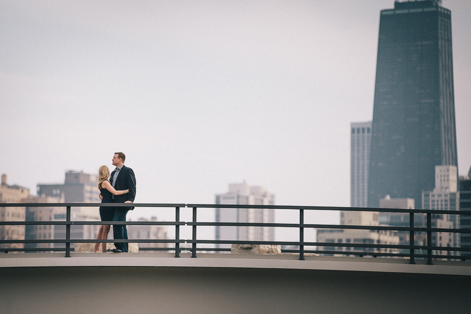 Chicago Engagement Photos || Emily + Matt