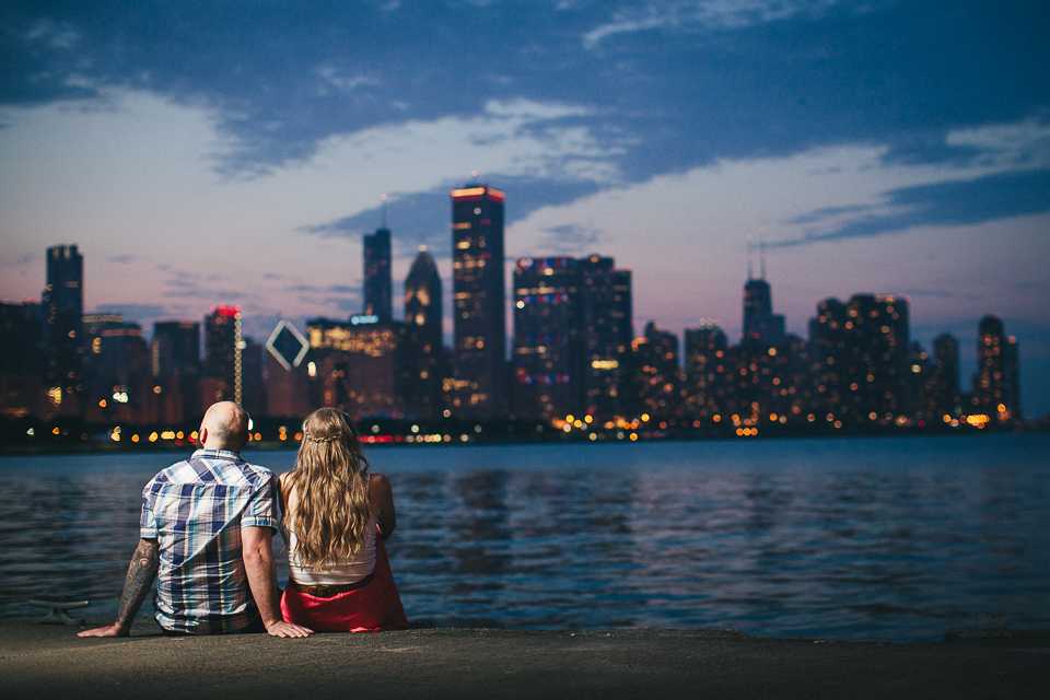 Chicago Engagement Photos || Chantel + Chris