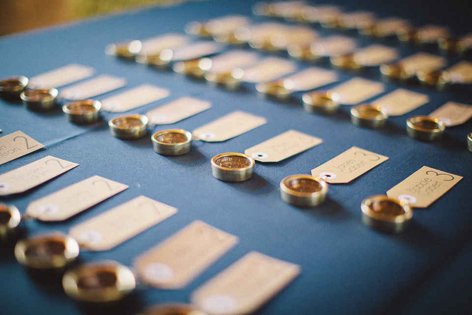 20 compasses at wedding