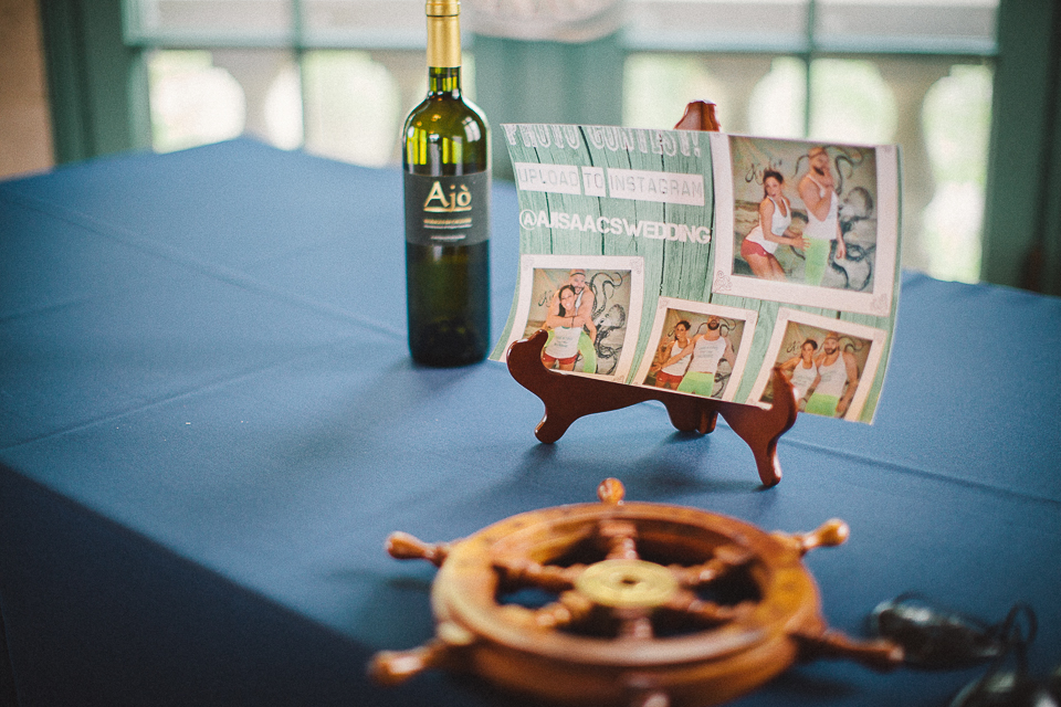 21 nautical details at wedding
