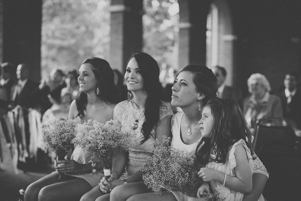 34 bridesmaids black and white