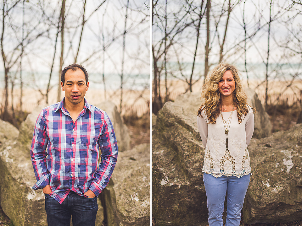 12-1 fun portraits of cute couple on engagement shoot
