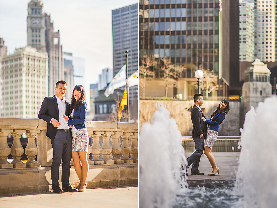 15 chicago engagemend and wedding photos - Chicago IL Engagement Photos // Anne + Dennis