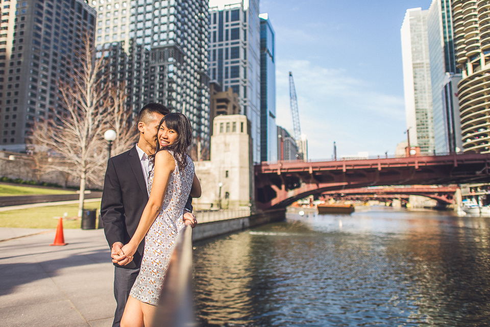 18 wedding and engagement photography in chicago - Chicago IL Engagement Photos // Anne + Dennis