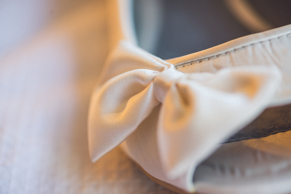 02 bridal shoe - Downtown Chicago Wedding Photography // Mandy + Tim