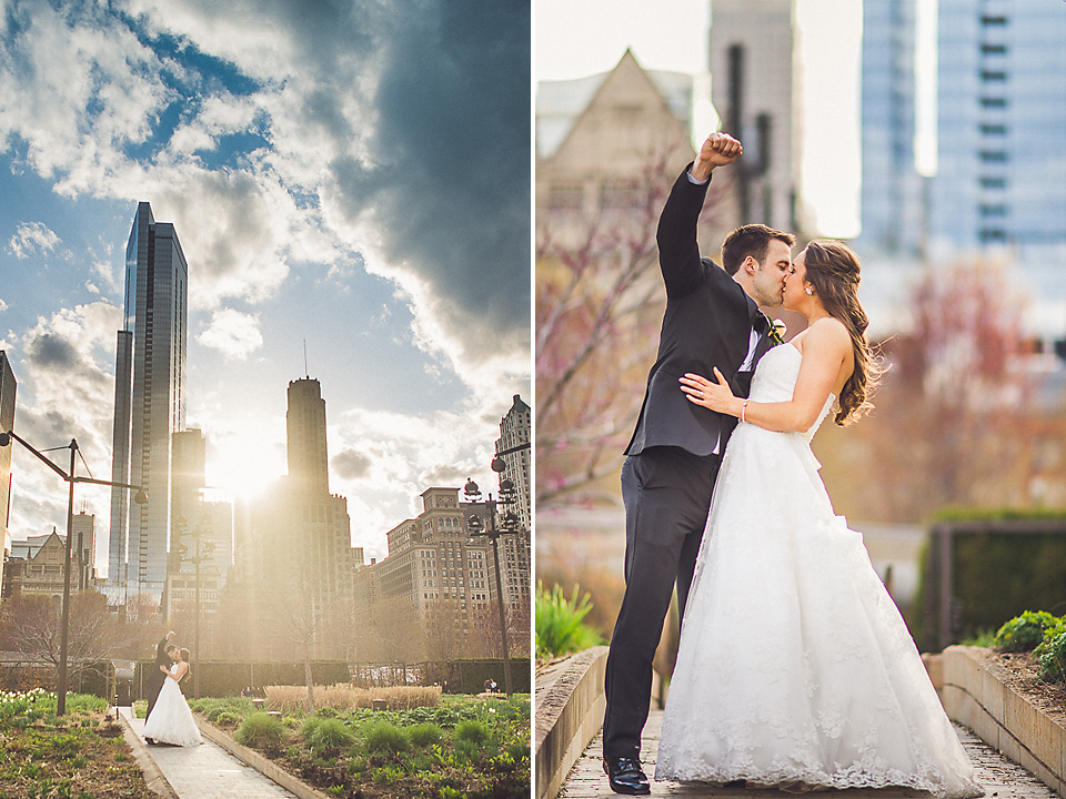 102 broom and sky - Downtown Chicago Wedding Photography // Mandy + Tim