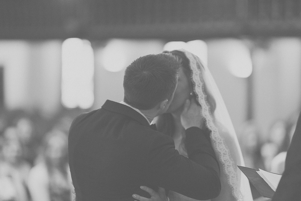 41 happy couple fist kiss - Downtown Chicago Wedding Photography // Mandy + Tim