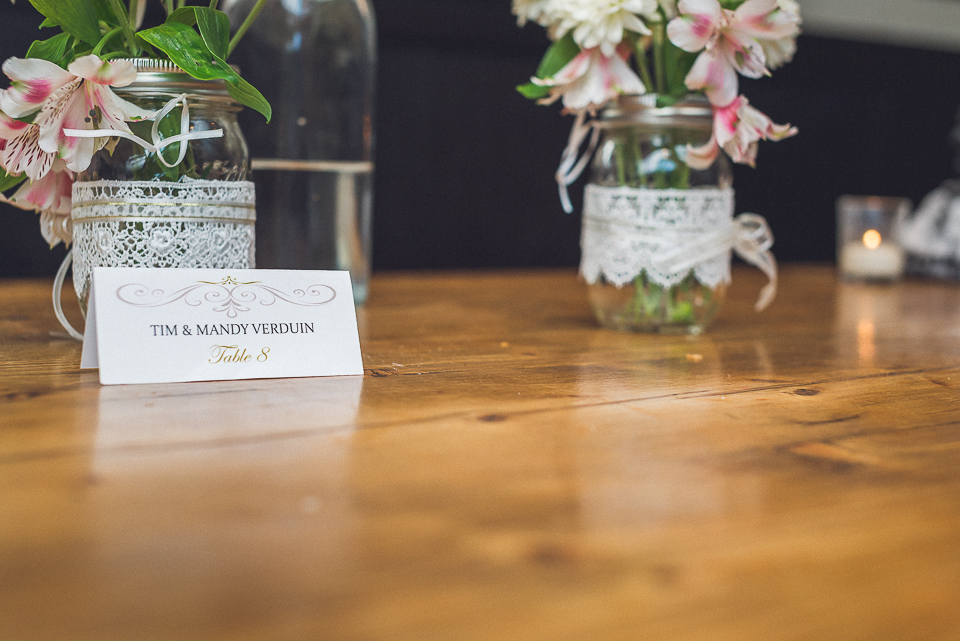 49 table place cards - Downtown Chicago Wedding Photography // Mandy + Tim