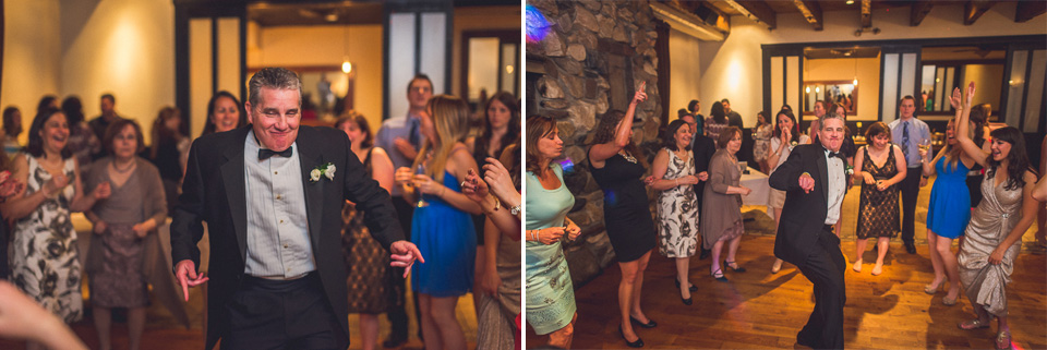 71 father of bride dancing - Downtown Chicago Wedding Photography // Mandy + Tim