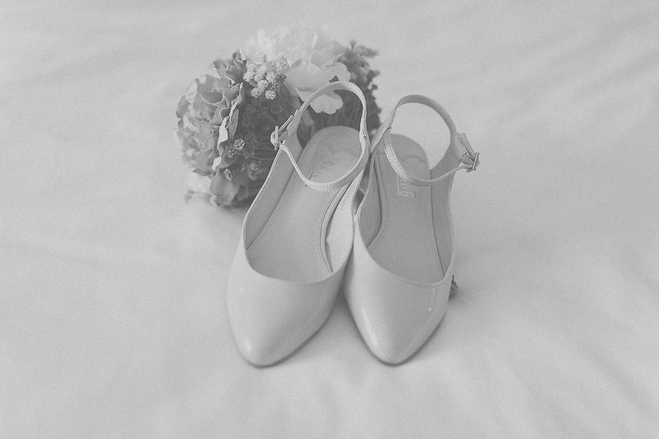 02 bridal shoes and flowers