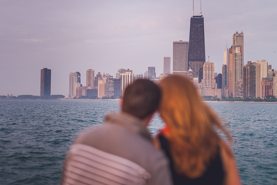 02 couple engaged in chicago