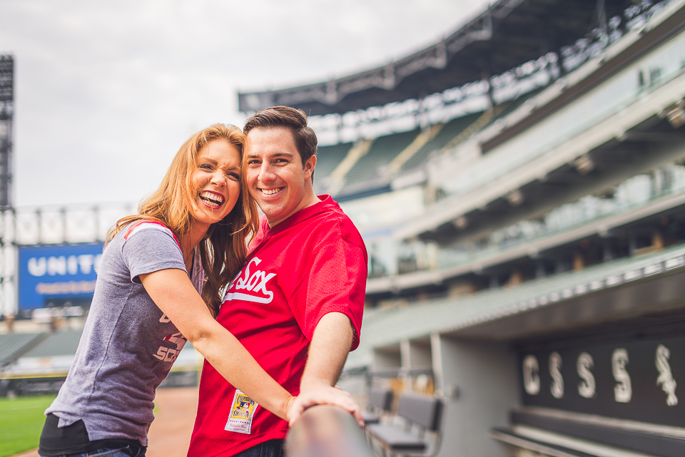 12 couples photo at us cellular field