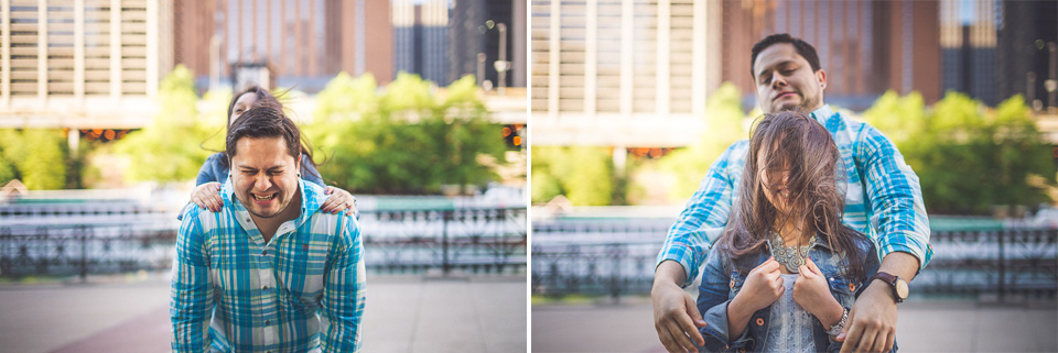 19 - Juan + Carla // Downtown Chicago Lakefront Engagement Session
