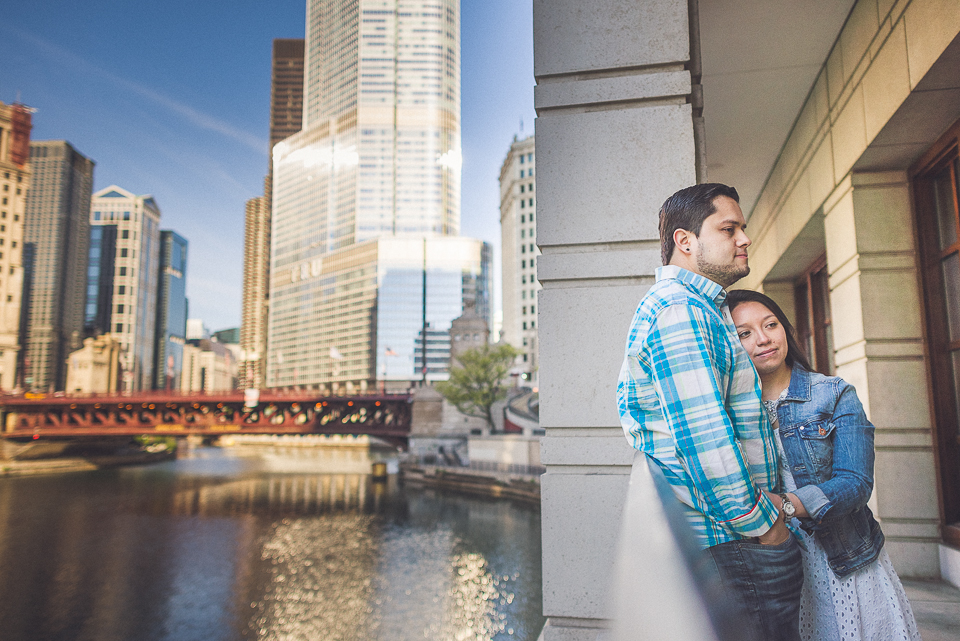 21 - Juan + Carla // Downtown Chicago Lakefront Engagement Session