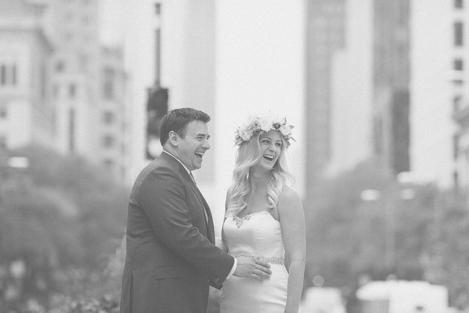 23 black and white portrait of bride and groom