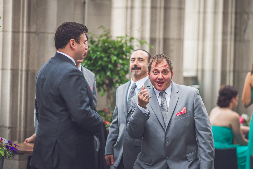 35 goofy groomsmen - Documentary Wedding Photographer in Chicago // Lynsey + Eric
