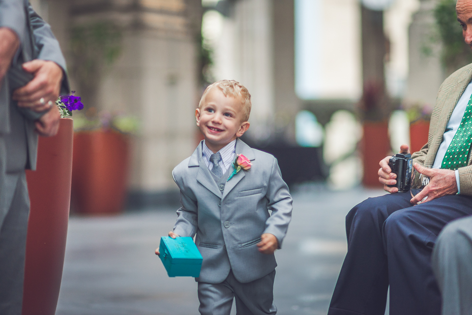 37 ringbearer - Documentary Wedding Photographer in Chicago // Lynsey + Eric