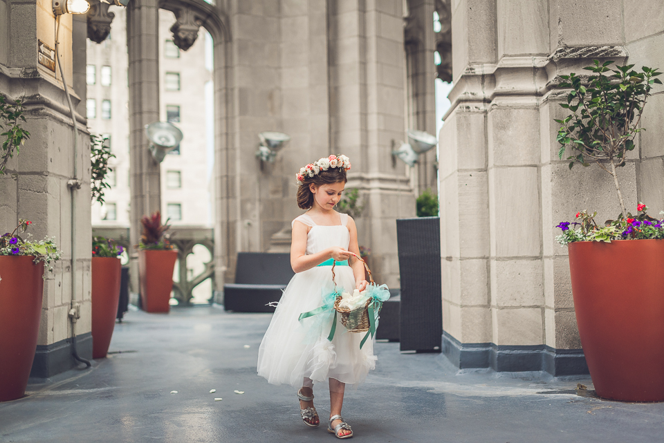 38 flowergirl - Documentary Wedding Photographer in Chicago // Lynsey + Eric