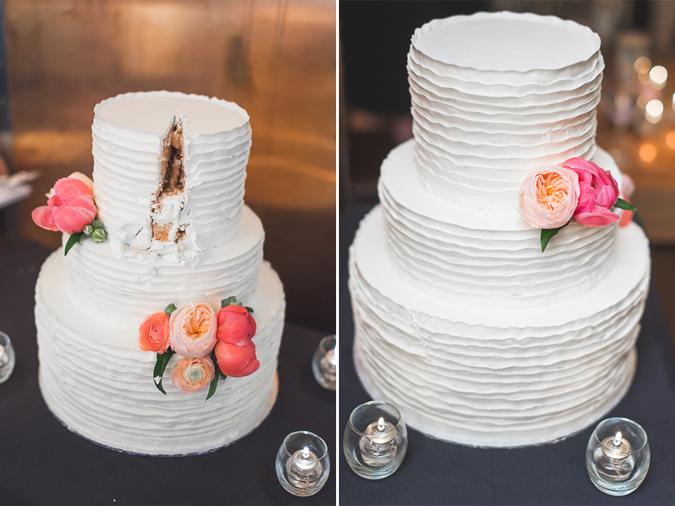 47 cake composite - Documentary Wedding Photographer in Chicago // Lynsey + Eric