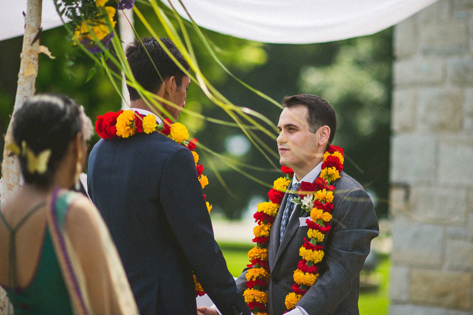 18 vows during same sex wedding - Chicago Wedding Photographers // Sal + David