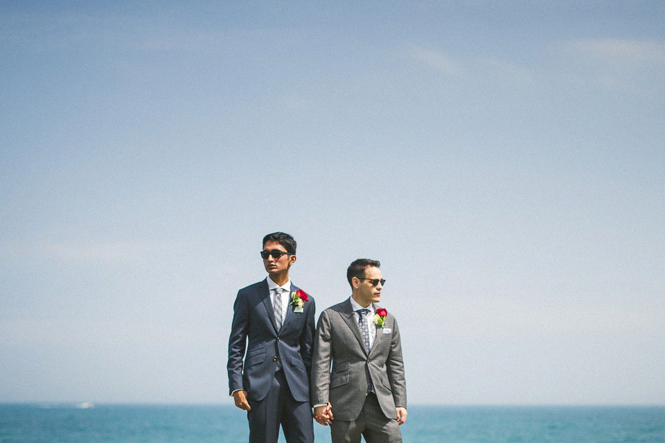 20 artistic portraits of same sex couple - Chicago Wedding Photographers // Sal + David