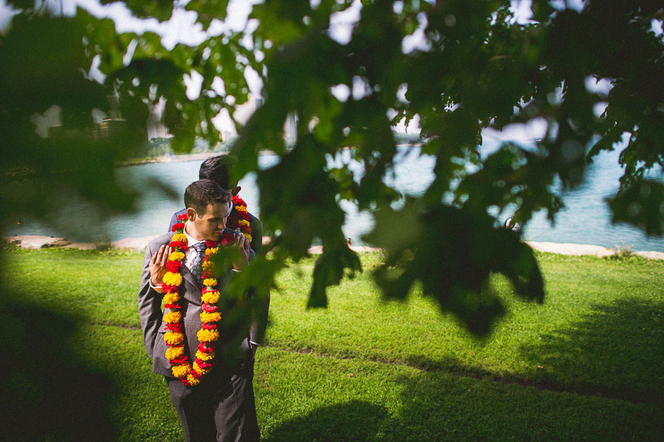 22 portraits near the water - Chicago Wedding Photographers // Sal + David