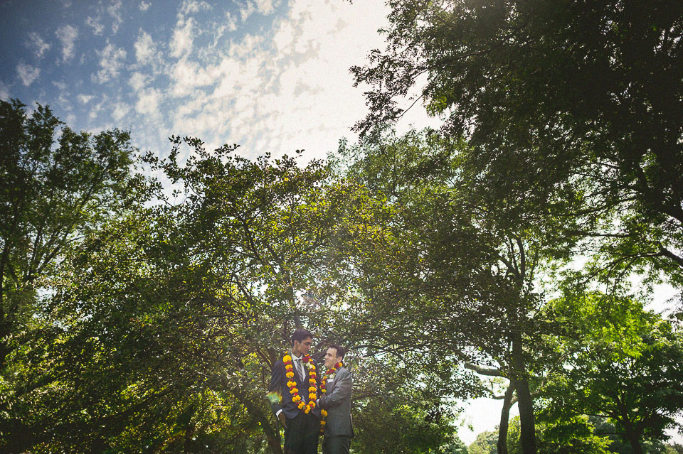 23 creative same sex portraits - Chicago Wedding Photographers // Sal + David