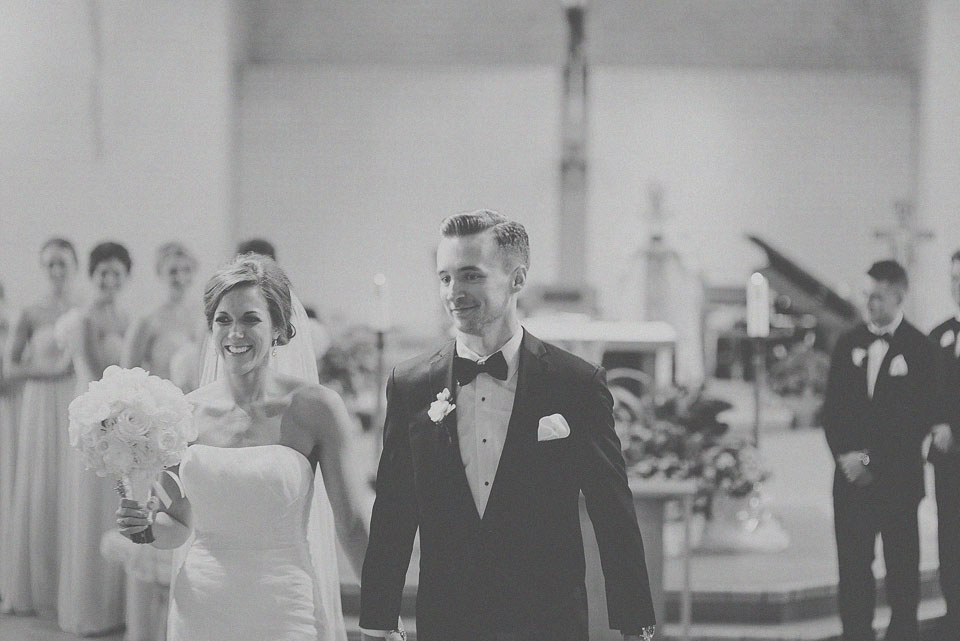 24 black and white recessional