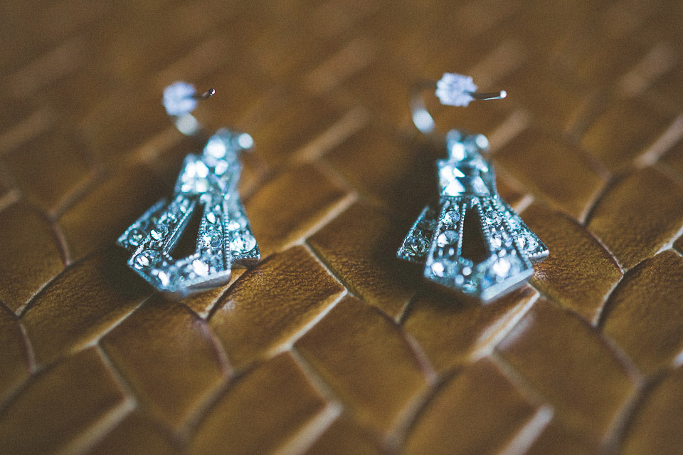 02 bridal earings - Susan + Jack // Lake Geneva Wedding Photography