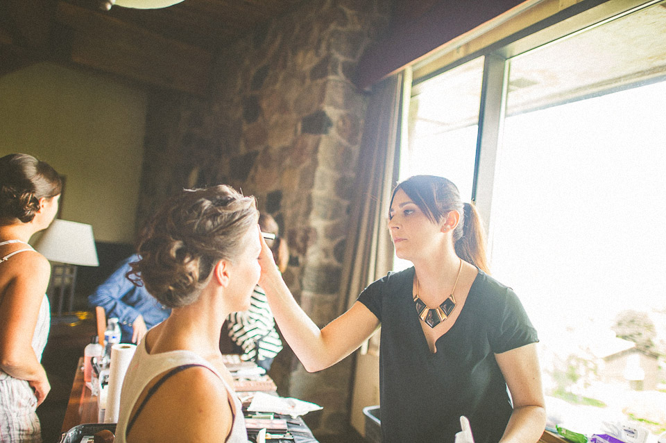 04 bridal makeup - Susan + Jack // Lake Geneva Wedding Photography