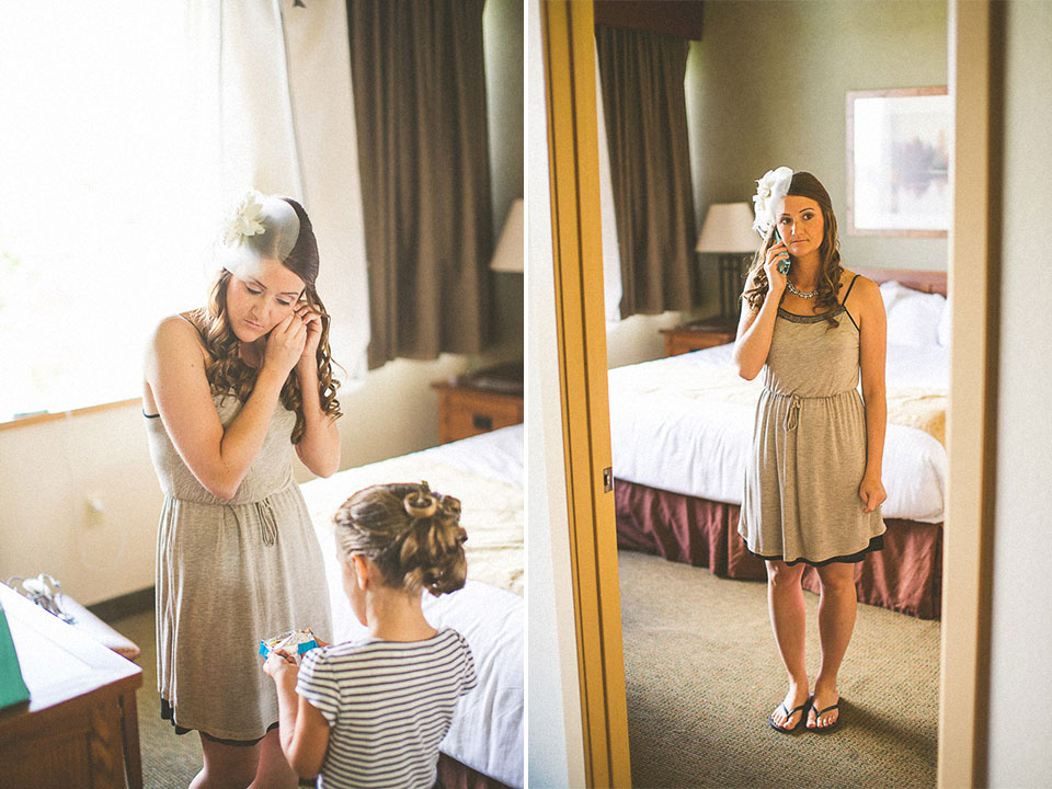 07 bride getting dressed - Susan + Jack // Lake Geneva Wedding Photography