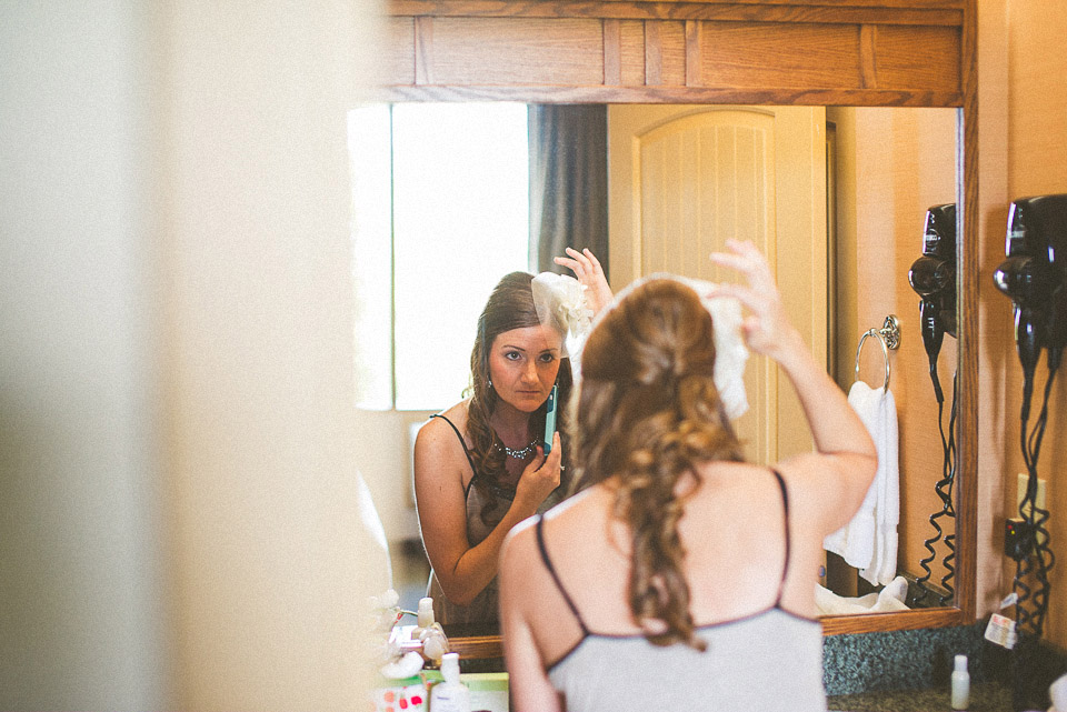 09 bride getting ready - Susan + Jack // Lake Geneva Wedding Photography