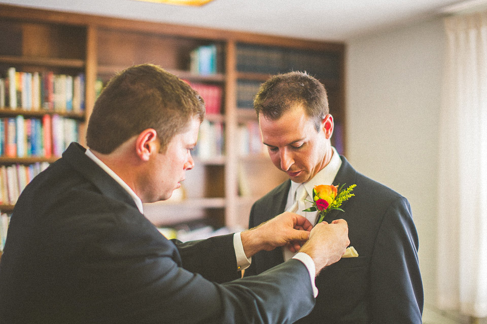 21 groom at lake geneva wedding - Susan + Jack // Lake Geneva Wedding Photography