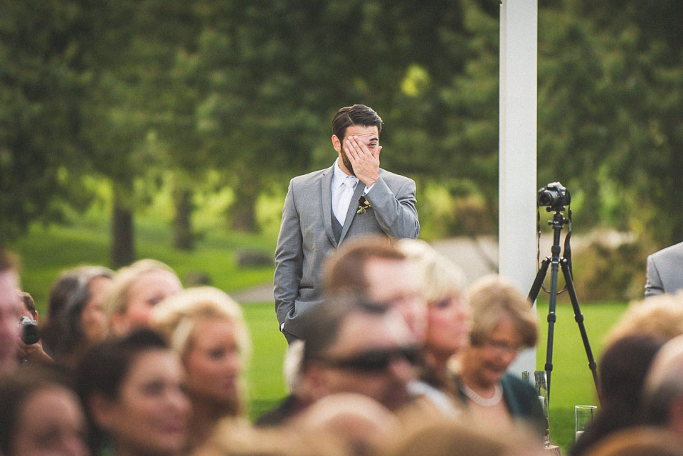 24 groom at alter crying