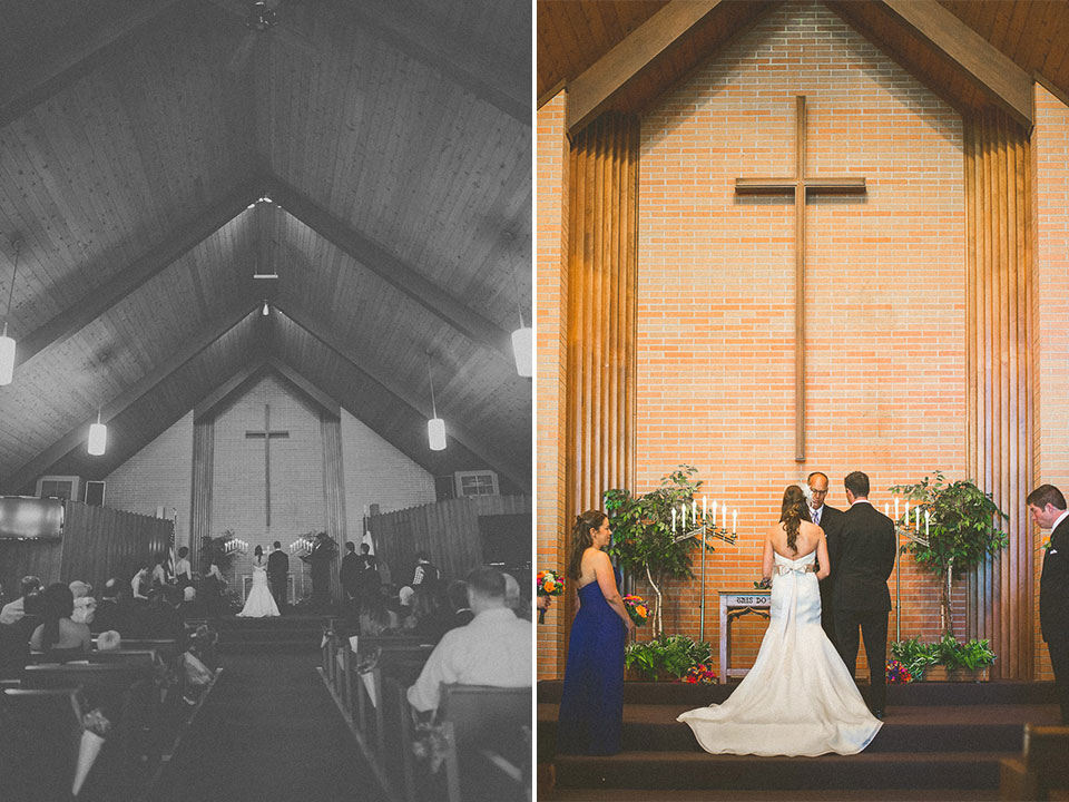 28 couple at alter - Susan + Jack // Lake Geneva Wedding Photography
