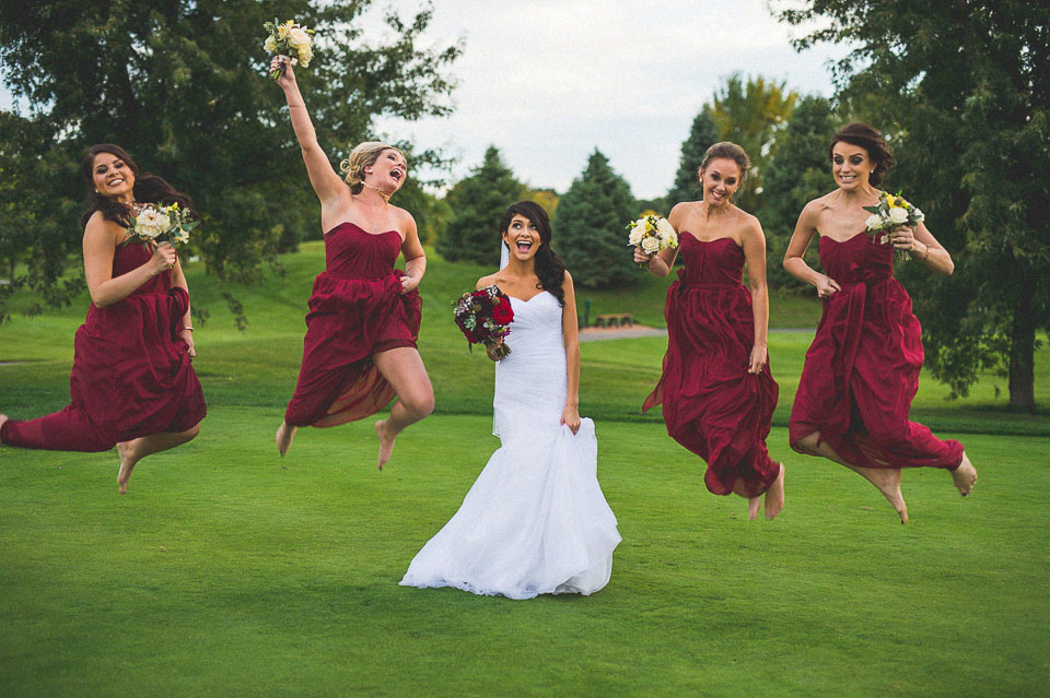 33 bride with bridesmaids having fun