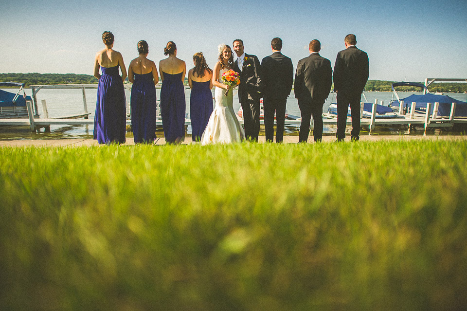 38 creative bridal party photos - Susan + Jack // Lake Geneva Wedding Photography