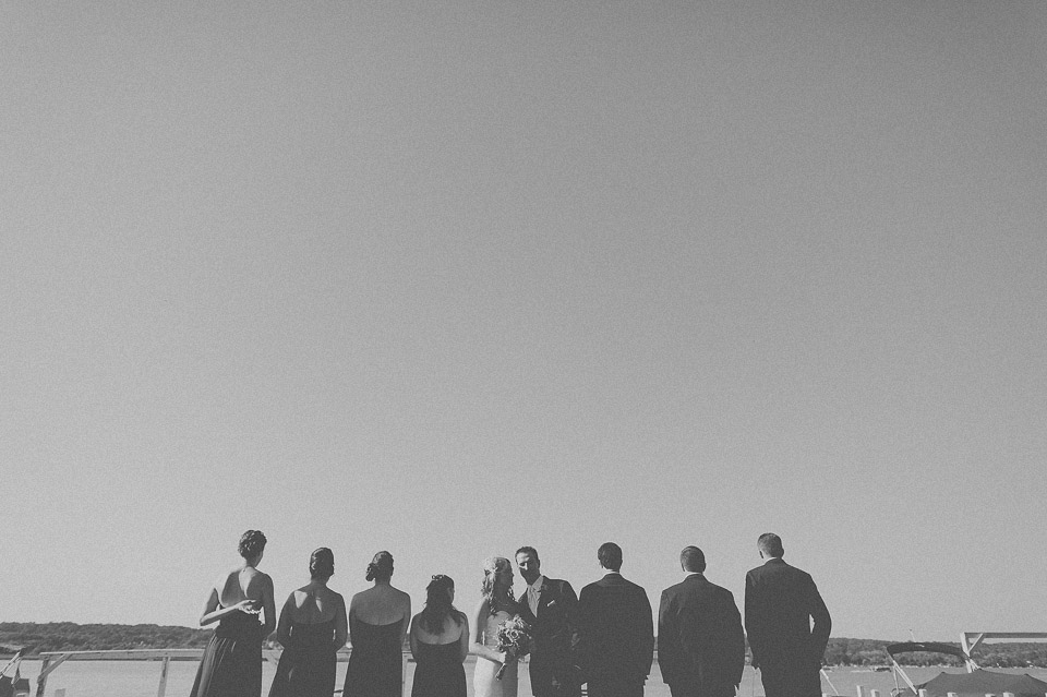 39 black and white bridal party photos