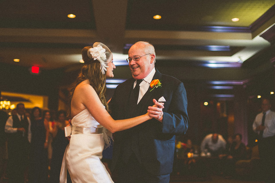 42 father daughter dance at wisconsin wedding - Susan + Jack // Lake Geneva Wedding Photography