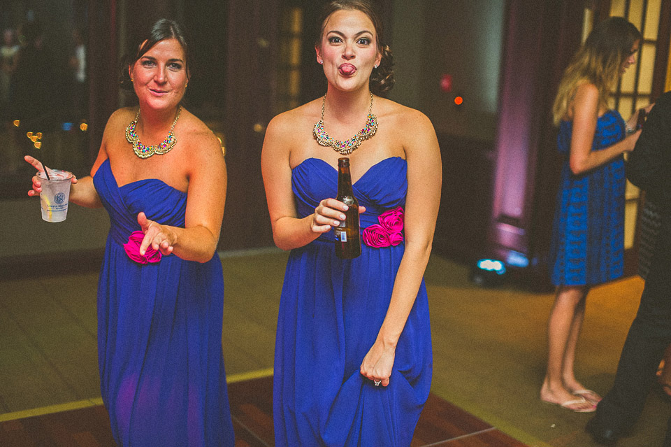 43 silly bridemaid in lake geneva wedding - Susan + Jack // Lake Geneva Wedding Photography